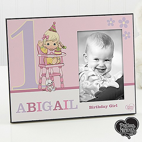 Precious Moments 1st Birthday 4 Inch X 6 Inch Picture Frame Bed