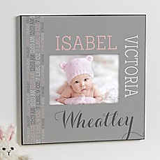 image of Darling Baby 5-Inch x 7-Inch Photo Frame