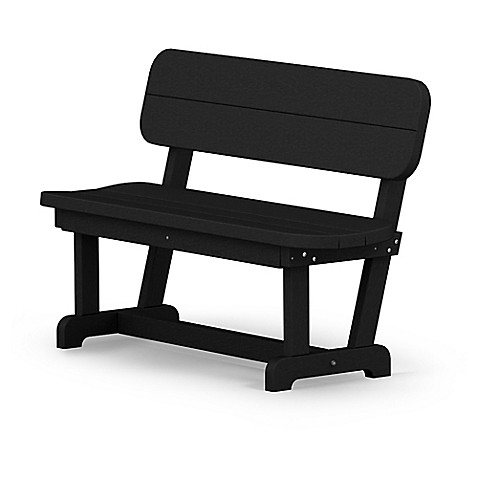 POLYWOOD Park Inch Bench Bed Bath Beyond - Polywood park picnic table