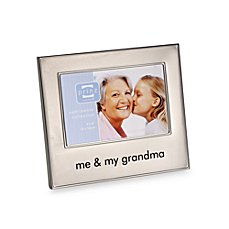 image of me and my grandma frame