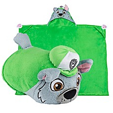 image of Comfy Critters™ PAW™ Patrol Rocky Wearable Stuffed Animal in Green