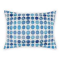 image of Designs Direct Blue Dots Pillow Sham