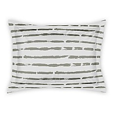 image of Designs Direct Brush Strokes Pillow Sham in Taupe