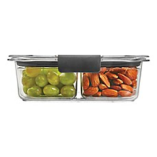 image of Rubbermaid® Brilliance 3-Cup Snack Food Storage Container