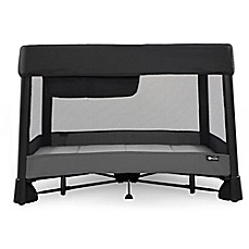 image of 4moms® Breeze Plus Playard in Black