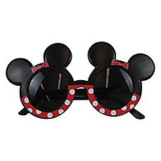 image of Disney® Minnie Baby Ear Sunglasses in Black/Red