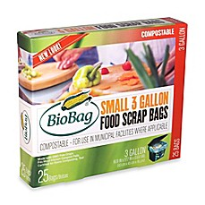 image of BioBag® 25-Count 3-Gallon Food Waste Bags