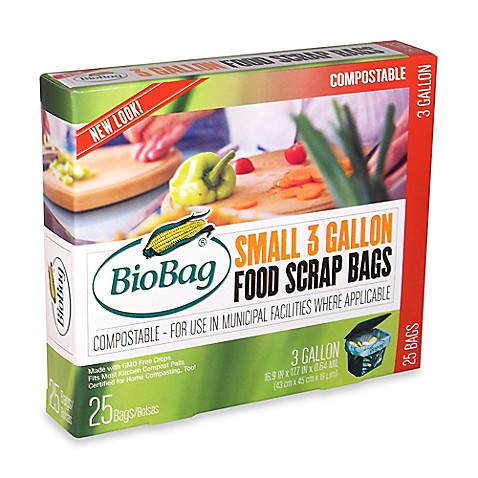 25count 3gallon food waste bags