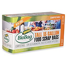 image of BioBag® 12-Count 13-Gallon Tall Kitchen Bags