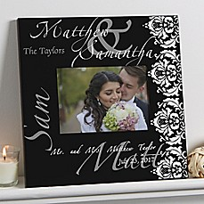 image of The Wedding Couple 5x7 Wall Frame