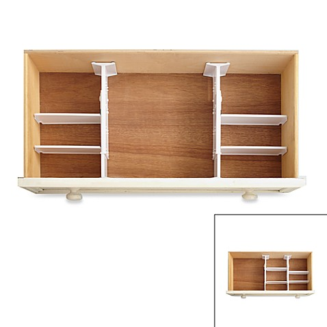 Personalization is required to add item to cart or registry. Real Simple  6 Piece Adjustable Drawer Organizer   Bed Bath   Beyond