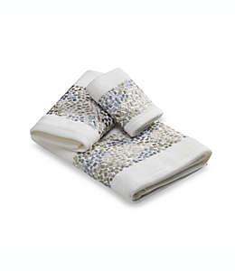 Toalla para manos de algodón Croscill® Spa Tile color blanco