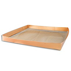 image of Cooks Innovations® Nonstick Copper Oven Crisper Basket