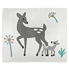 image of Sweet Jojo Designs Forest Deer Floor Rug