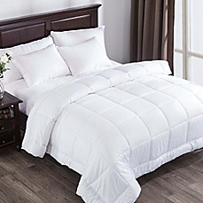 Puredown 300 Thread Count Down Alternative Comforter In White