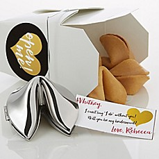image of Will You Be My Bridesmaid Personalized Fortune Cookie