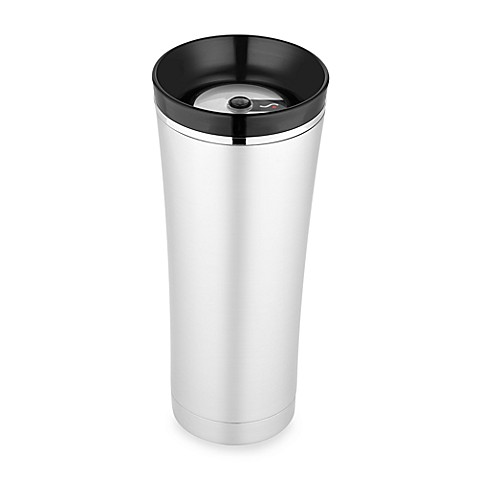Thermos® Sipp™ Vacuum Insulated Tumbler in Black