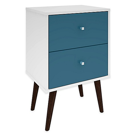 Manhattan Comfort Liberty Modern Nightstand 2.0
