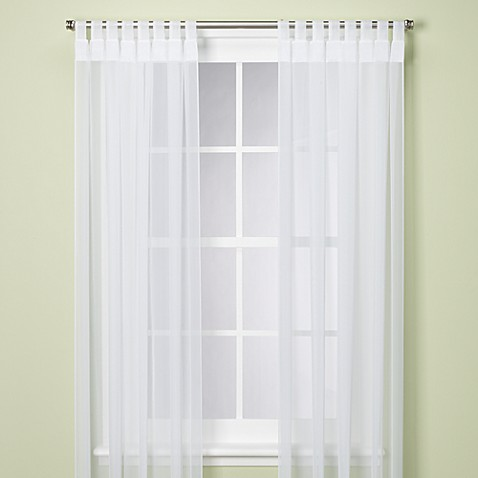Commonwealth Home Fashions Escape Tab Top Indoor/Outdoor Curtain Panel