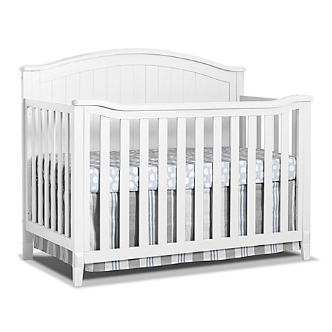 sorelle fairview 4 in 1 convertible crib in white buybuy baby. Black Bedroom Furniture Sets. Home Design Ideas