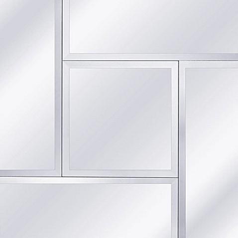 Yosemite Home Décor Pineland 27.5-Inch Square Glass Mirror - Bed ...