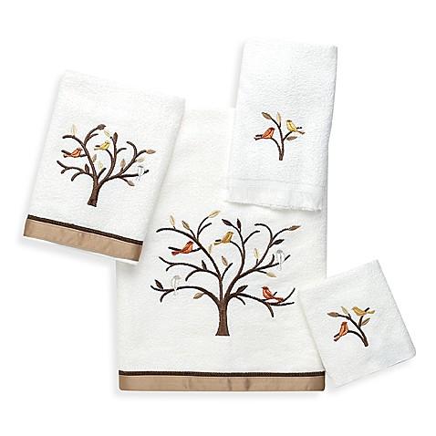 Avanti Friendly Gathering Bath Towel Collection Bed Bath