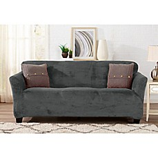 Great Bay Home Gale Strapless Sofa Slipcover