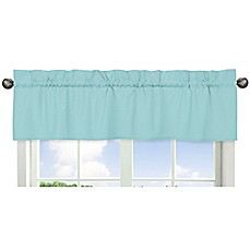 image of Sweet Jojo Designs Window Valance in Turquoise
