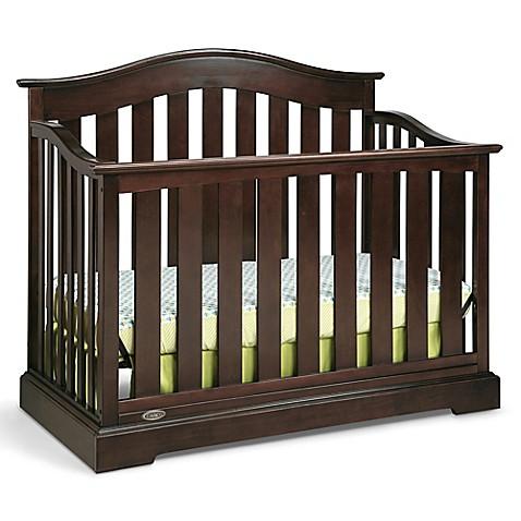 Graco 174 Westbrook 4 In 1 Convertible Crib In Espresso Bed