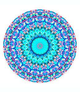 Soporte para celular Arabesque PopSockets en azul multicolor