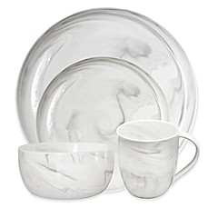 Artisanal Kitchen Supply® Coupe Marbleized Coupe 16-Piece Dinnerware Set in Grey  sc 1 st  Bed Bath u0026 Beyond & Dinnerware u0026 Dishware | Mikasa Dinnerware | Bed Bath u0026 Beyond