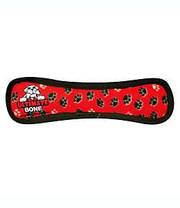 Hueso de juguete Tuffy® Ultimate Bone para perro color rojo
