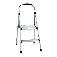 image of cosco signature twostep aluminum step stool - Step Stool