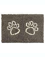 Tapete de poliéster para puerta Clean Pup Pawslife™ color café