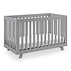 image of Storkcraft Status Beckett 3-in-1 Convertible Crib in Pebble Grey