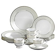 image of Mikasa® Parchment 20-Piece Fine China Dinnerware Set