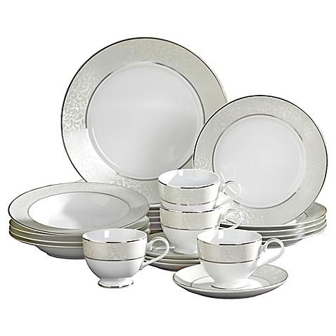 Mikasa\u0026reg; Parchment 20-Piece Fine China Dinnerware Set  sc 1 st  Bed Bath \u0026 Beyond & Mikasa® Parchment 20-Piece Fine China Dinnerware Set - Bed Bath \u0026 Beyond