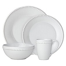 Lenox® French Carved™ Pearl Dinnerware Collection  sc 1 st  Bed Bath u0026 Beyond & Casual Dinnerware - Porcelain Stoneware u0026 Plastic Dinnerware | Bed ...