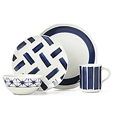 image of Lenox® Painted Elements™ Indigo Brushed Dinnerware Collection