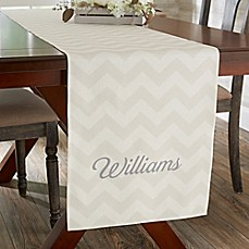 image of Home Patterns Personalized Table Runner