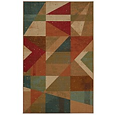 Image Of Mohawk Home® Framework Area Rug In Red/Teal