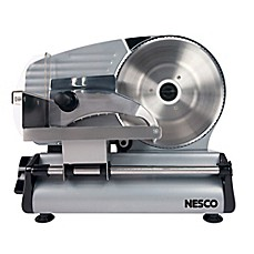 image of Nesco® FS-250 Food Slicer in Stainless Steel/Black