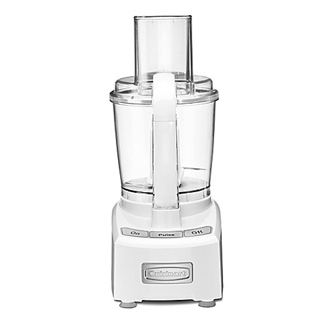 Cuisinart elite 7 cup food processor bed bath beyond cuisinartreg elite 7 cup food processor in white forumfinder Choice Image