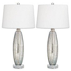 Lamps floor table lamps bed bath beyond pacific coast lighting sparrow table lamps in champagne set of 2 aloadofball Gallery