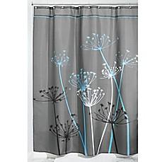 Style Lounge Shower Curtain. InterDesign  Thistle Fabric Shower Curtain style lounge shower curtain Bed Bath Beyond