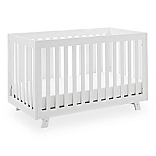 image of Storkcraft Status Beckett 3-in-1 Convertible Crib in White