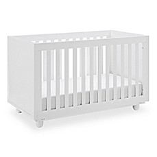 image of Storkcraft Status Violet 3-in-1 Convertible Crib in White
