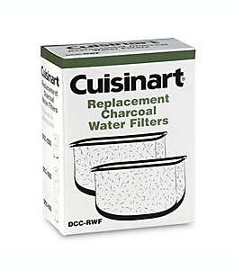 Repuestos de filtros de carbón para agua Cuisinart®, Set de 2