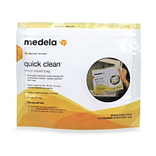 image of Medela® Quick Clean™ 5-Count Micro-Steam™ Bags