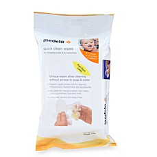 image of Medela® Quick Clean 24-Count Breastpump and Accessory Wipes
